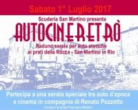 1° luglio 2017 - AUTOCINERETRO' Una serata speciale tra auto d'epoca e cinema