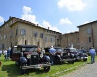 June 5, 2016: on the castle lawns festival car of missing Italian brands.